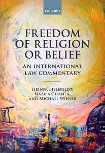 """Cover to the Book """"Freedom of Religion or Belief"""""""
