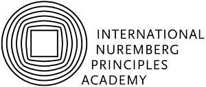 "Logo of the ""International Nuremberg Principles Academy"""