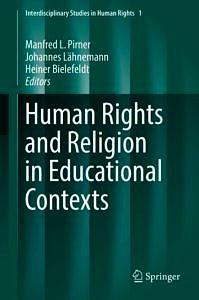 "Cover to the Book ""Human Rights and Religion in Educational Contexts"""
